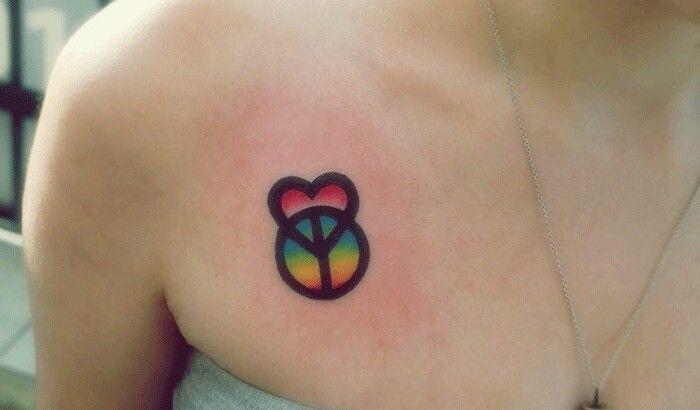 Tattoo love peace