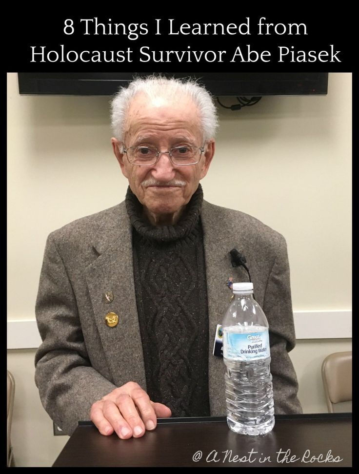 8 Things I Learned from Holocaust Survivor Abe Piasek