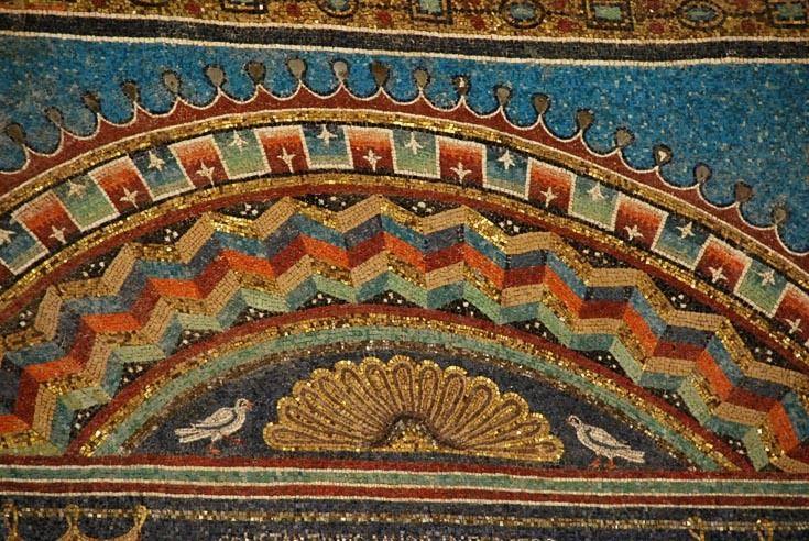 ВИЗАНТИЯ В КАРТИНКАХ - Орнамент в мозаиках Равенны