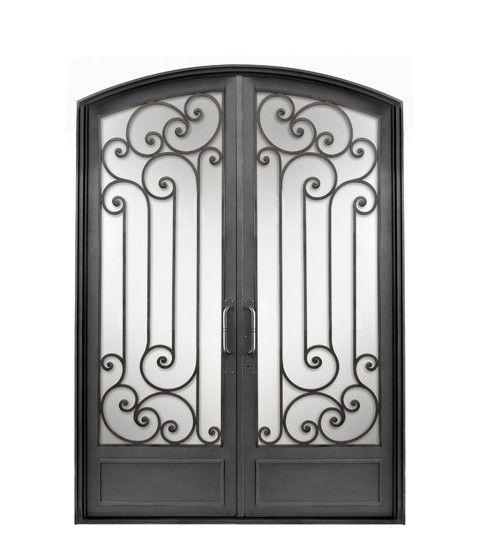 Puerta Doble Hoja Cabezal Curvo