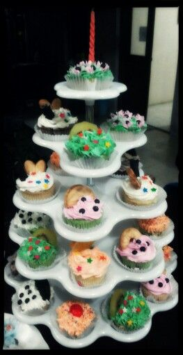 B'day Cupcakes made by Anggraeni for Dad