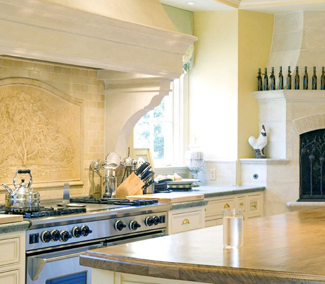 Mansion Kitchen Pictures: Oprah Winfrey Remodeling Santa Barbara Mansion: See Inside