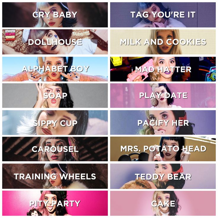Put together by me. ~Schmew/Kayla Curran~ Couldn't figure out which I liked best, so I'm posting all of them. Meh ~ 2 of 3 ~ Melanie Martinez █ ▮pictures+idea from▮ Queen Of No Identity (honeydoyouwantmenow) ▮on▮ Tumblr