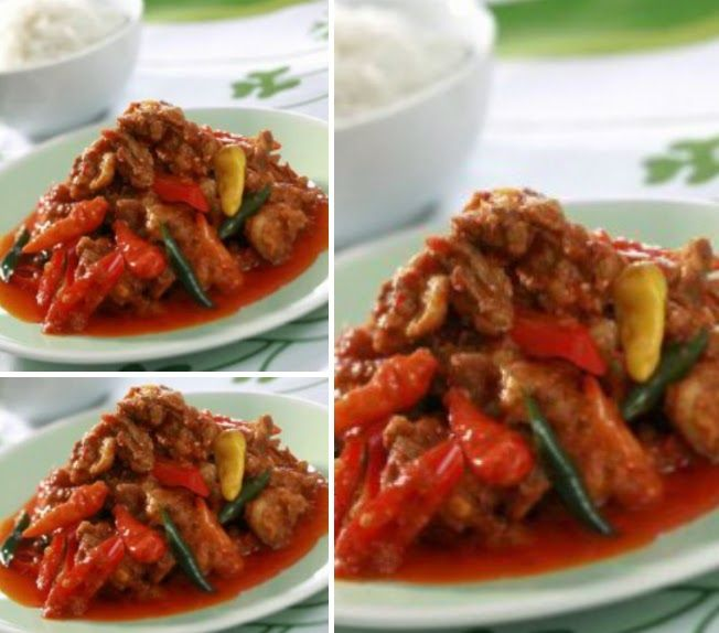 Resep ayam goreng masak rica-rica pedas spesial