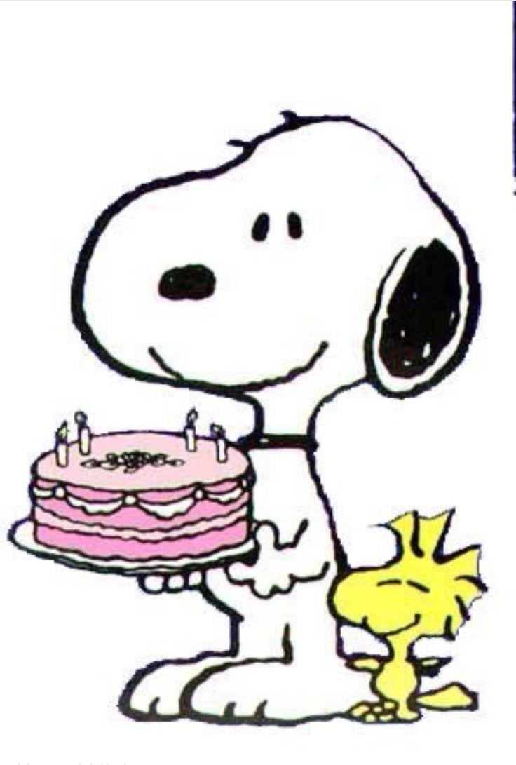 Snoopy Peanuts Birthday Cake