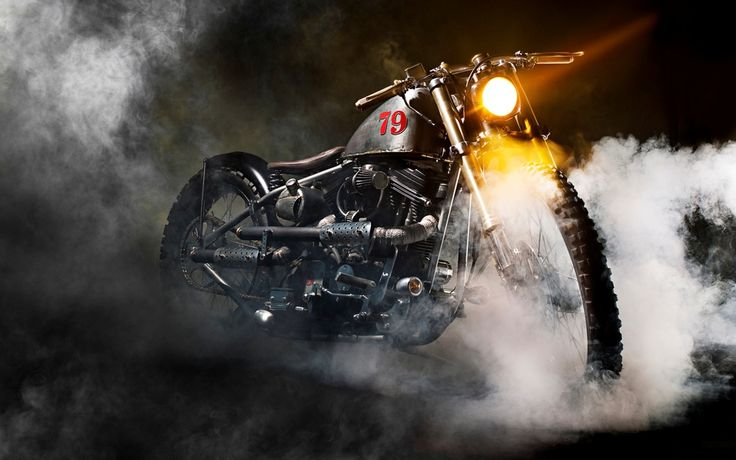 Boneshaker motorcycle wallpaper
