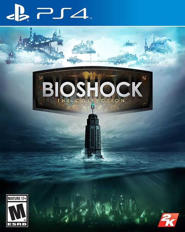 🎮💿 Bioshock The Collection PS4 Playstation Sony 2K Games Game Videogame