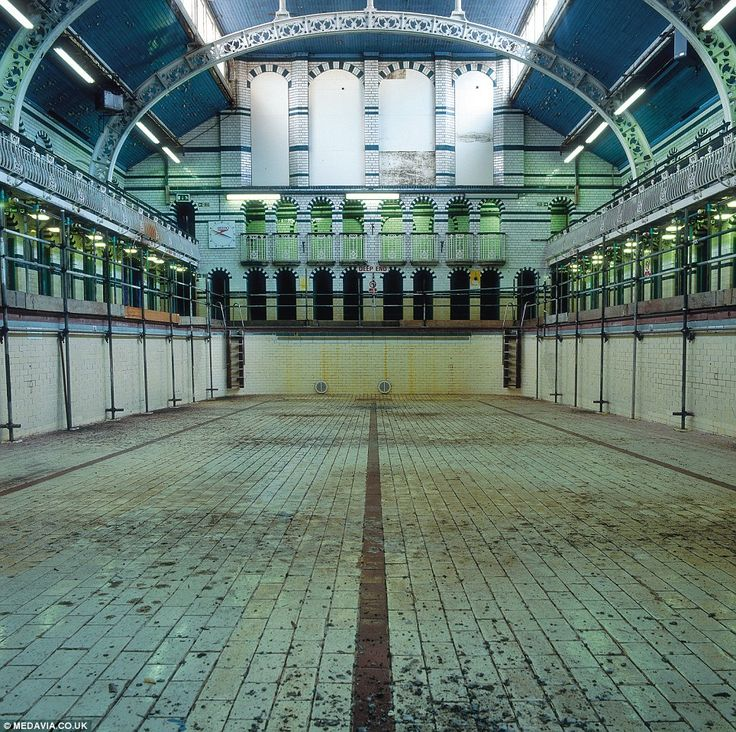 Eerie images of Britain's forgotten pools left derelict after the Victorian golden age of public bathing.