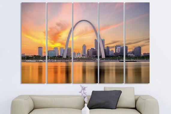 Saint Louis Art Saint Louis Wall Art Saint Louis City Saint Louis