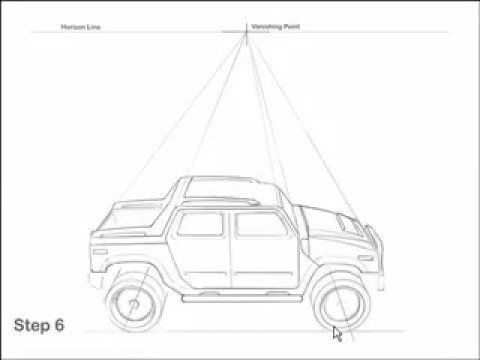 25 trending car drawing easy ideas on pinterest simple car how to draw cars fast and easy hummer tutorial ccuart Gallery
