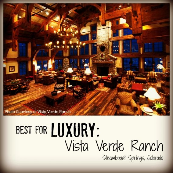 Best for Luxury: Vista Verde Ranch. Best Family Dude Ranch Vacations on @trekaroo