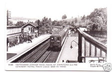 Tattenham Corner race train at Chipstead 1953