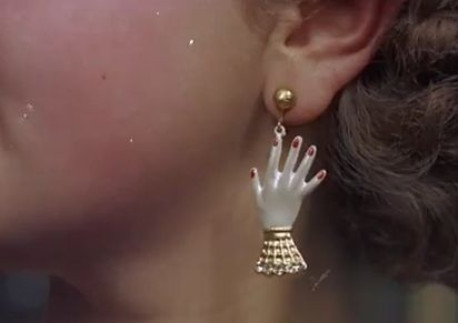 Hand earring. Bit creepy but who can resist eccentric statement jewellery?