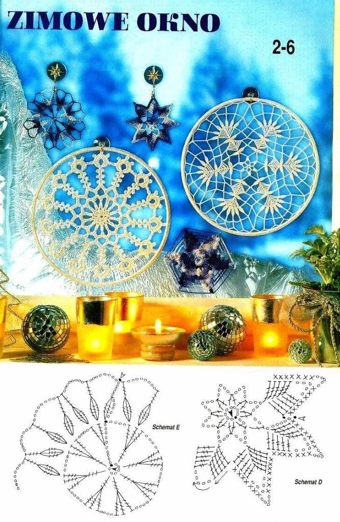 snowflakes crochet 242