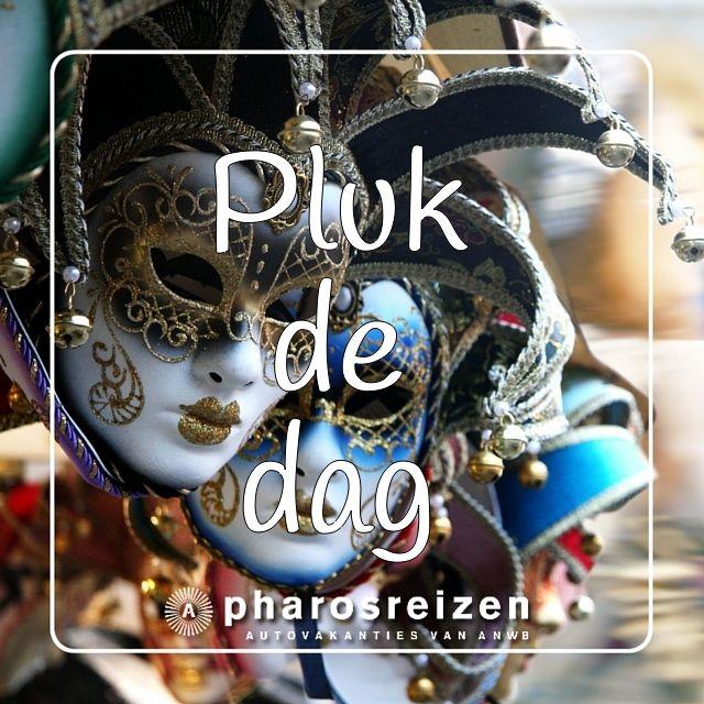 Pluk de dag #quote #ervaareuropa #europa #Italië #carnaval #masker