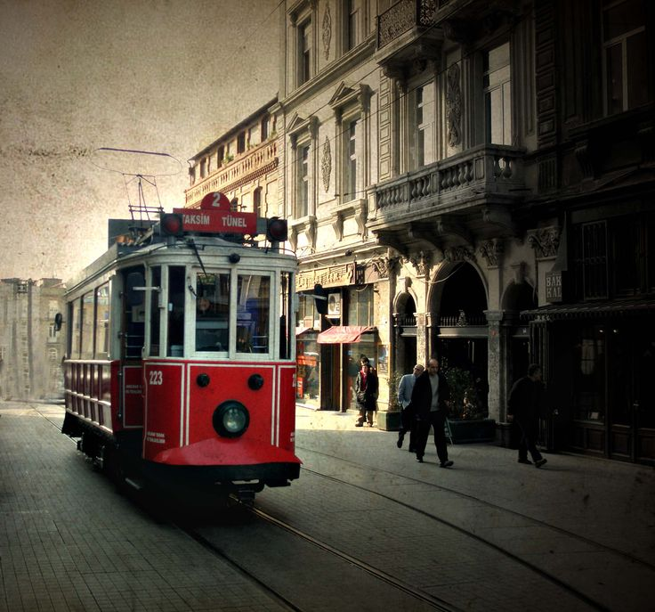 the old trolley cars that still run today