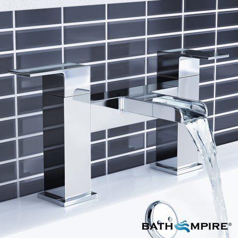 Niagra II Waterfall Bath Mixer Taps