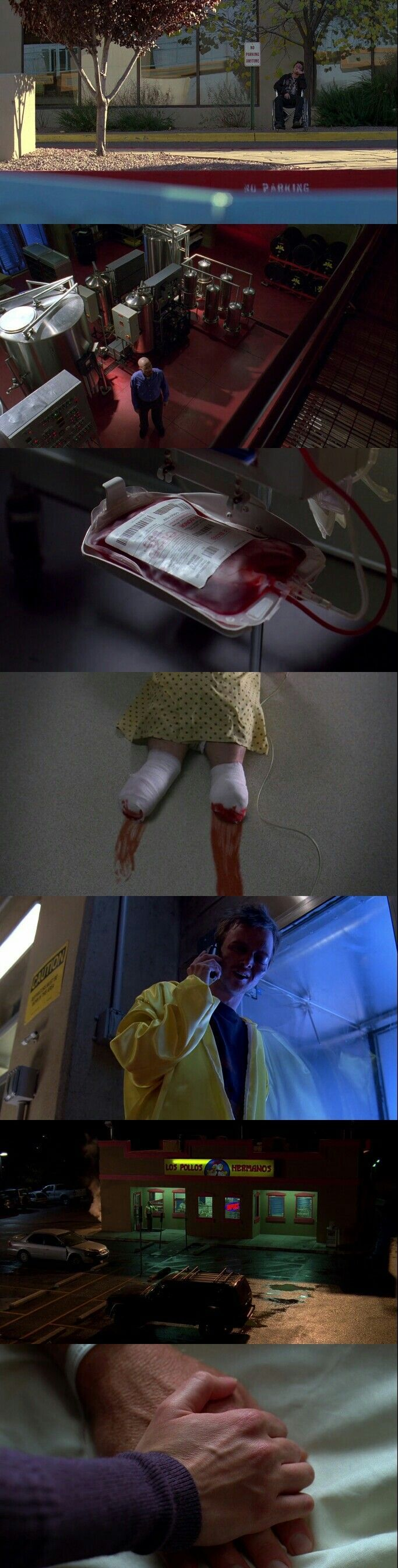 Breaking Bad( 2008 - 2013 ) Season 3 Episode 8: I See You.