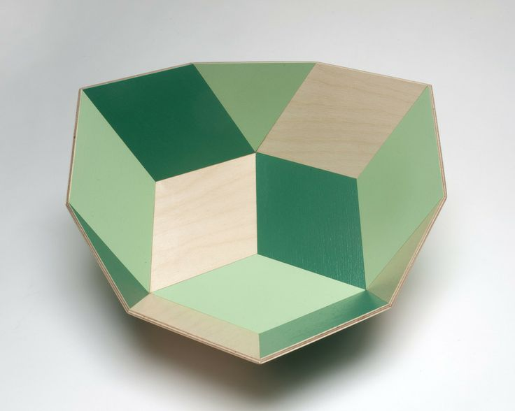 The Tegl Bowl is named from the Danish word 'tegl' (pronounced 'tile') for tile or brick. Perfect for use as a fruit bowl! Forest reflects the sparkling greens of spring in the beech forests of Denmark.The bowls are constructed from exterior grade plywood joined with waterproof glue, and are finished with food-grade water-based polyurethane. They are food safe and water-resistant and can be used for salads, fruit and other food.  They can be washed with warm water and soap, ...