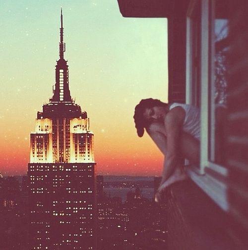 NYC. Twilight zone