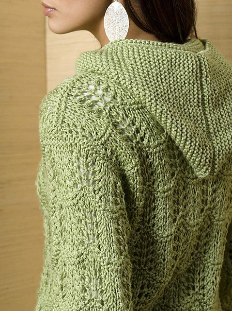Free Pattern: Serenity Cardi by Tanis Gray