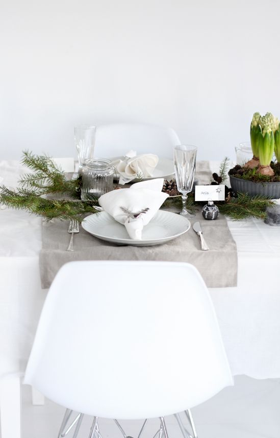 STYLIZIMO BLOG: Table setting: Christmas