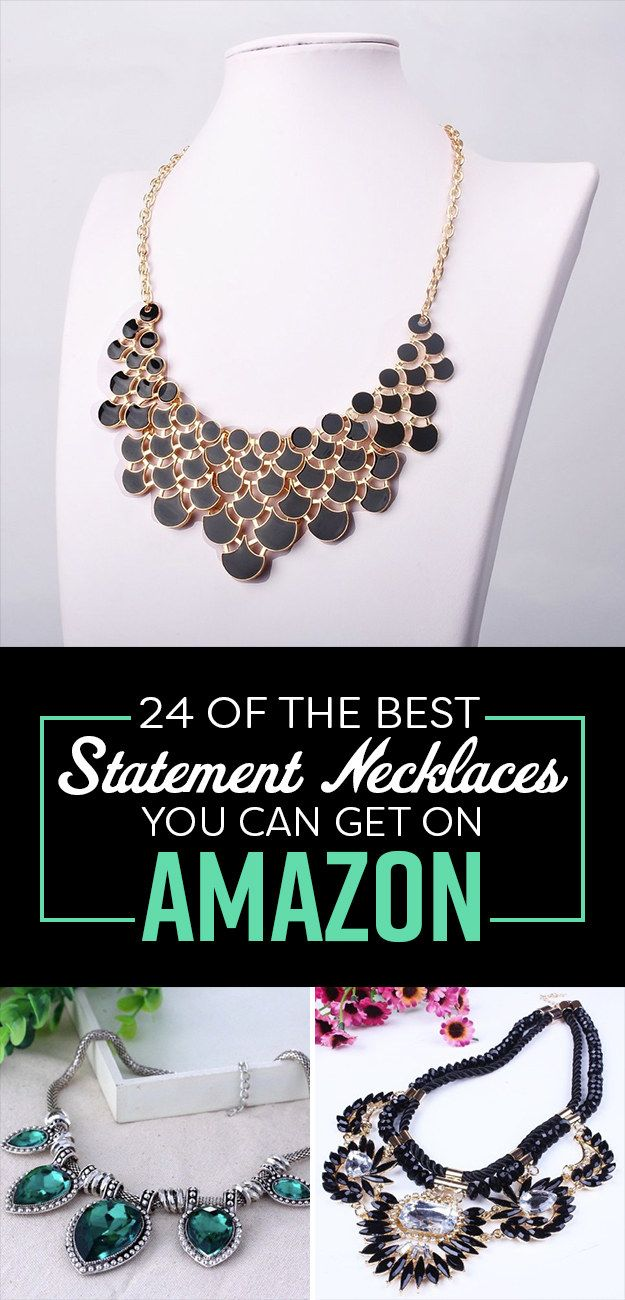 24 Of The Best Statement Necklaces You Can Get On Amazon