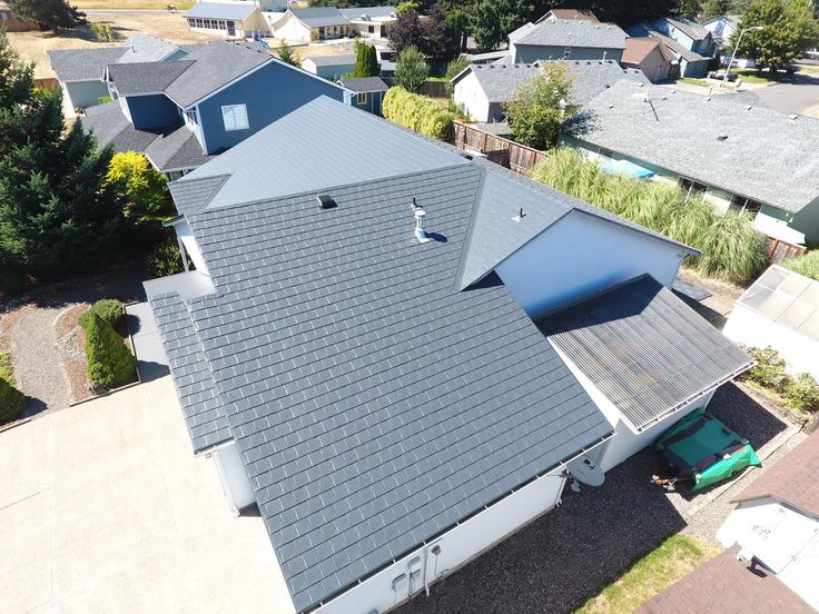33sq Deep Charcoal Interlock 174 Slate Roof Slate