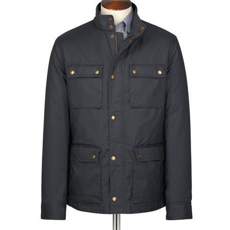 Navy weekend coat