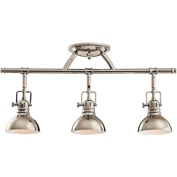 Kichler Lighting Fixed Rail Directional Light Polished Nickel