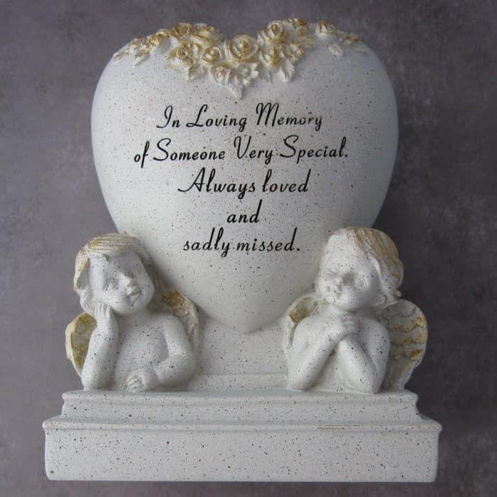 In Loving Memory Cherub Planter available here http://graangels.ie/memorial