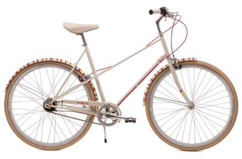 If I had a million dollars, I would buy a beautiful bike like this to run all of my errands on and I would outfit it with a basket, rear rack, and panniers.