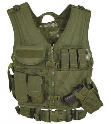 Chest Rigs and Tactical Vests 177891: Voodoo Tactical Msp-06 Entry Assault Vest, Olive Drab, 3Xl 5Xl - 20-8112004421 -> BUY IT NOW ONLY: $76.95 on eBay!