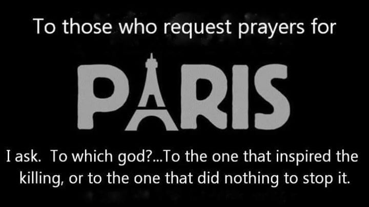 If you really want to help, donate to one of these organizations: http://www.usatoday.com/story/news/world/2015/11/14/how-you-can-help-survivors-victims-paris-terror-attacks/75786122/