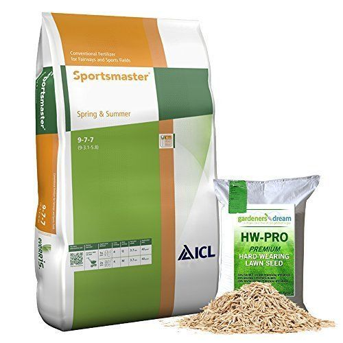 LAWN TREATMENT FEED GRASS FERTILISER SPRING & SUMMER 25KG SCOTTS PROFESSIONAL