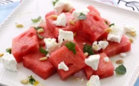 Watermelon Surprise Salad