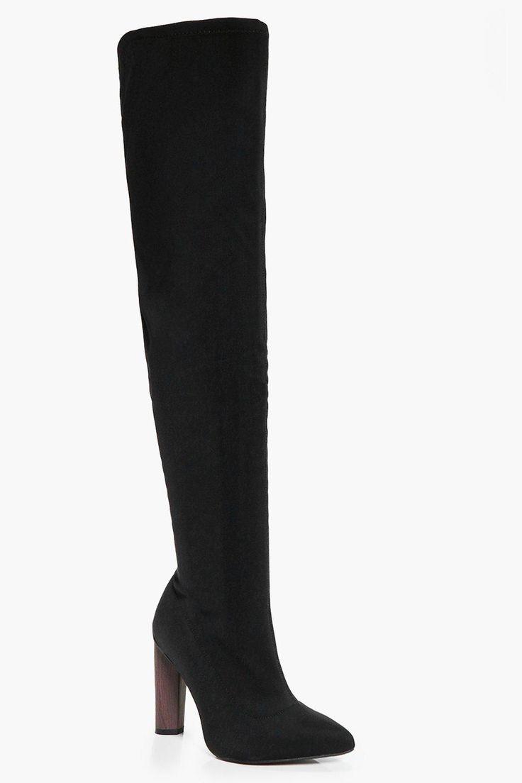 Edith Thigh Stretch Boot