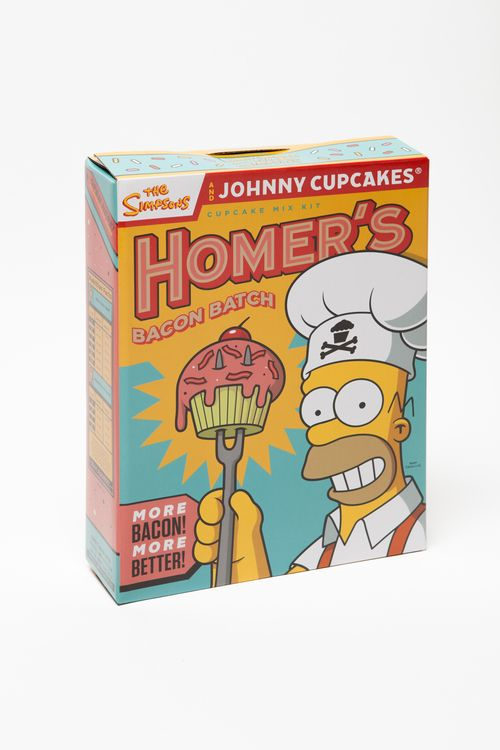 Interview with Johnny Cupcakes on The Simpsons Official Collaboration via @The Dieline