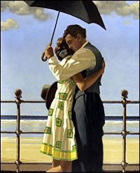 Embracing - Jack Vettriano