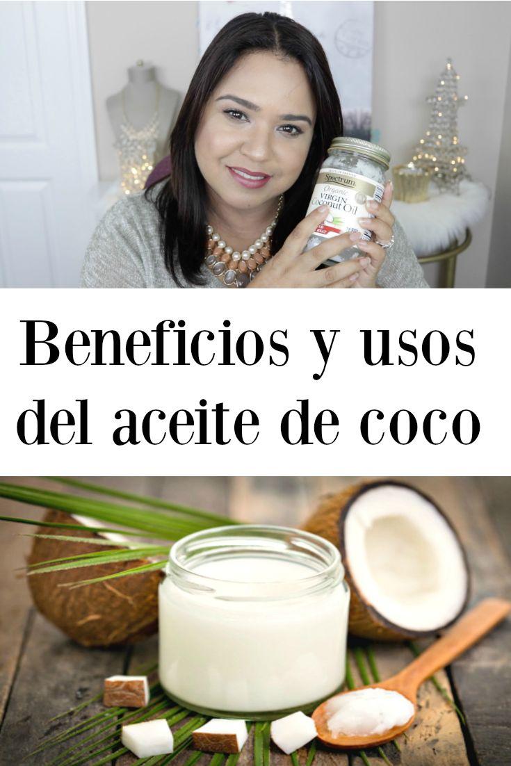 Beneficios y usos de el Aceite de Coco en la salud y belleza en general. Benefits and uses of coconut oil   Mas sobre el Aceite de Coco: - es un fuerte antioxidante - limpia y blanquea tus dientes - lubricante, hidratante natural - crema anti-estrias  -  acondiciona las pestañas - fortalece e hidrata las cutículas - remueve el maquillaje e hidrata la piel - tratamiento profundo para el cabello    Chequea el video en YouTube para más.