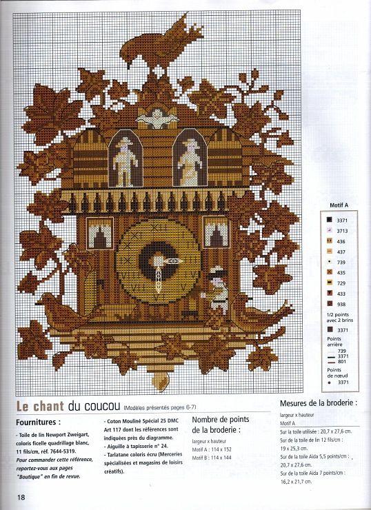 Plate 32 Black Billed Cuckoo Classic Designs Cross Stitch Pattern