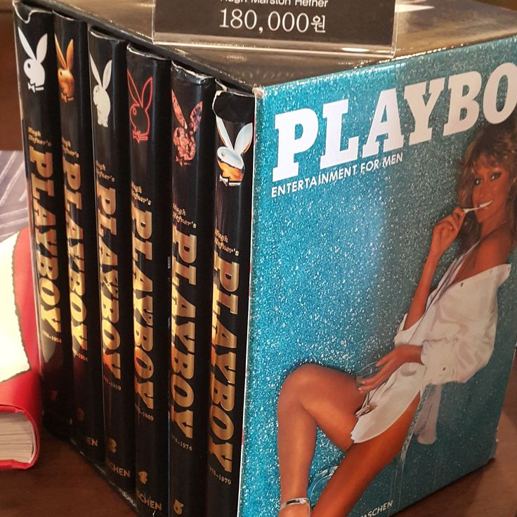 Hugh Hefner's Playboy  일러스트레이션이 가미된 플레이보이 자서전, 그 25년의 역사