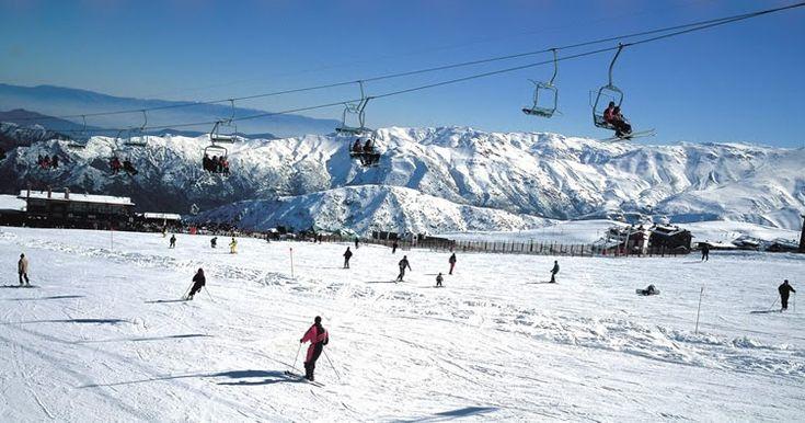 Estação de esqui El Colorado em Santiago do Chile #chile #viagem