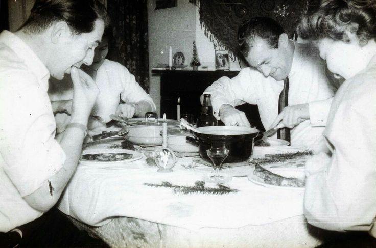 Kerst eind jaren 50. Den Haag