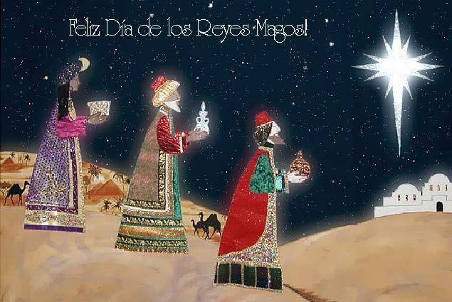 Tarjetas de Reyes Magos, Tarjetas Día de Reyes, Tarjetas animadas de navidad, Rio Tarjetas