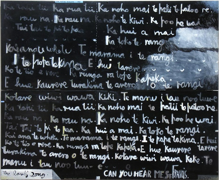 The lark's song, 1969. COlin McCahon