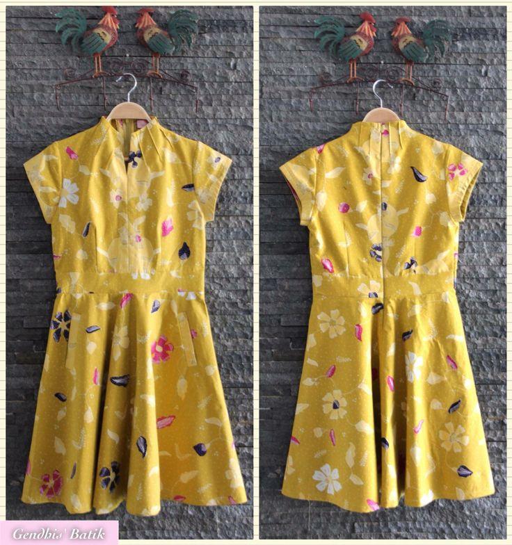 Batik tulis Cirebonan + lining Tricot halus, by Gendhis Batik