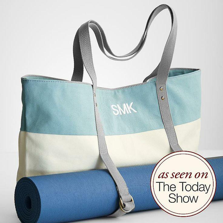 personalized yoga mat bag