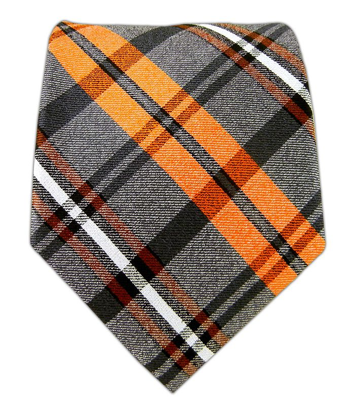 $20 Winter Plaid - Oranges - Winter Plaid - Oranges Ties. I want me a giants tie!