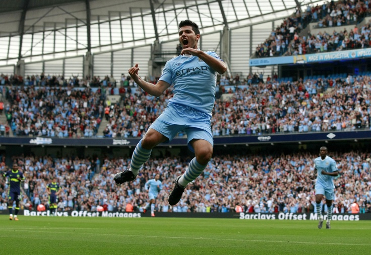 "Sergio ""Kun"" Aguero. passion meets adrenaline..."